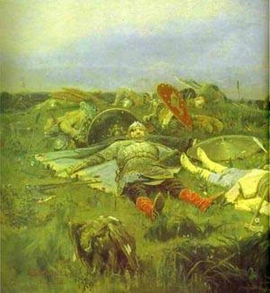 After prince igors battle with the polovtsy detail 1880 xx the tretyakov gallery moscow russia